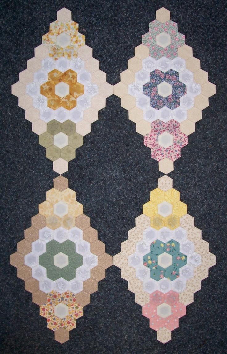 23 besten Hexagon Quilt Guest Book Ideas Bilder auf Pinterest ...