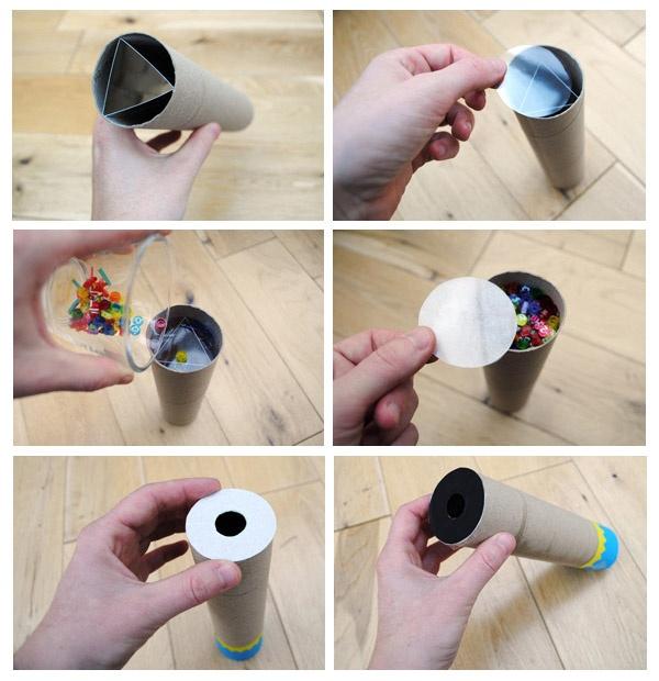 Kaléidoscope à fabriquer - D.I.Y.