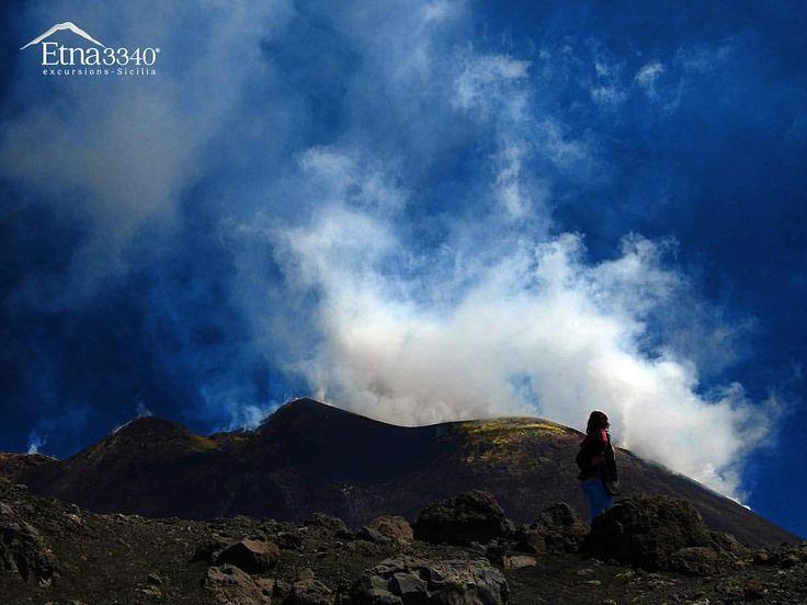 Trekking on Mount Etna... 🌋