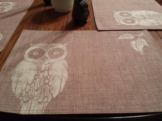 Owl Placemats From The Dollar General Everything S