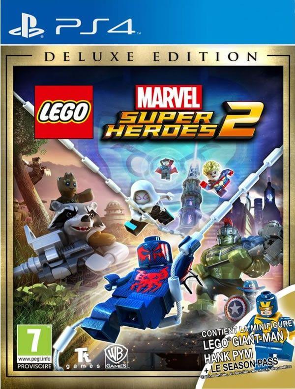 LEGO Marvel Super Heroes 2 : le jeu est disponible: Si vous attendiez avec impatience la sortie du jeu vidéo LEGO Marvel Super Heroes… #LEGO