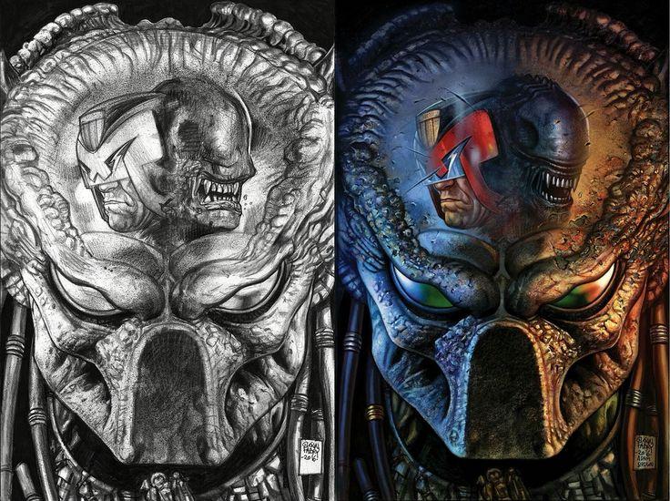 Judge Dredd-Predator