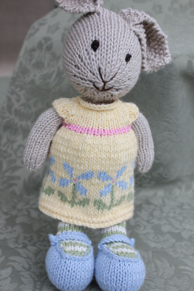 Outstanding Knitted Rabbit Patterns Free Adornment - Sewing Pattern ...