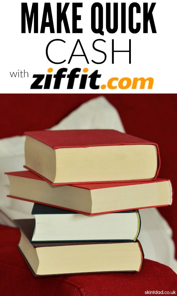 If you're short on cash or just need to have a clear out of old books, CDs, DVDs and games then you should use Ziffit to sell your used stuff for pure hard cash!