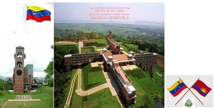 †ABADÍA DE SAN JOSE† MONJES BENEDICTINOS †2010†. VALENCIA-VENEZUELA.  †♠LOURDES MARIA BARRETO†♠