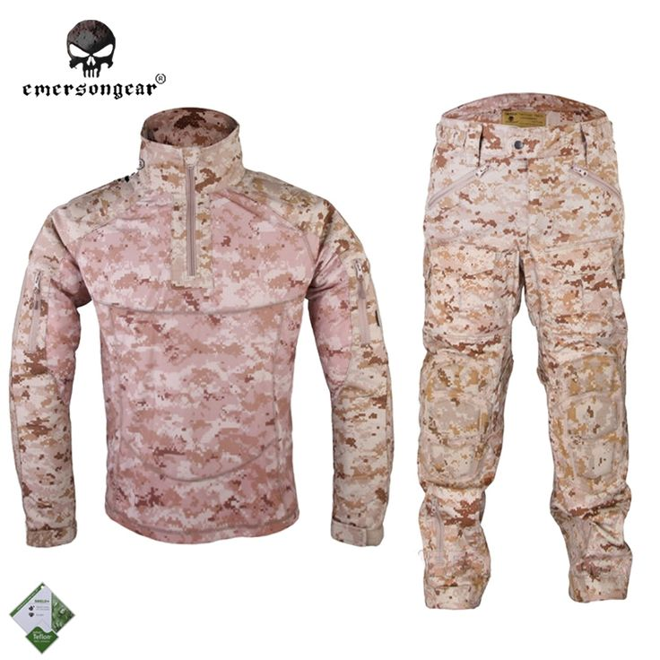121.30$  Buy now - http://alip78.worldwells.pw/go.php?t=32215457952 - Emersongear All-Weather Tactical Uniform Suit Anti-riot Set Camouflage Airsoft Uniform Combat Shirt & Pants EM6894R1 AOR1
