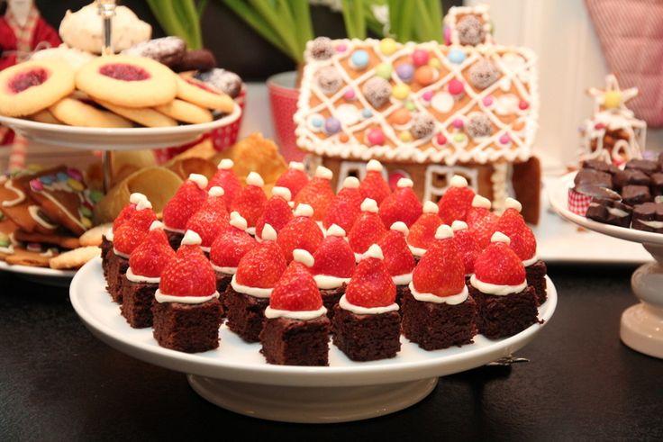 Brownies med nisseluer