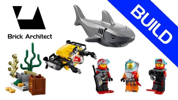 Lego City - Set 60091 Ensemble de démarrage sous-marin - Stop Motion Bui...