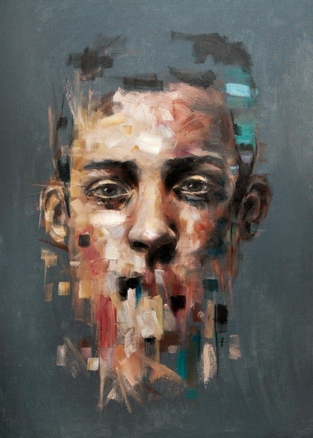 "Davide Cambria is an Italian painter. Although ha has a degree in architecture his passion won and through self-teaching he currently does what he desires. ""The face resists possession, resists my powers. In its epiphany, in expression, the sensible, still graspable, turns into total resist"