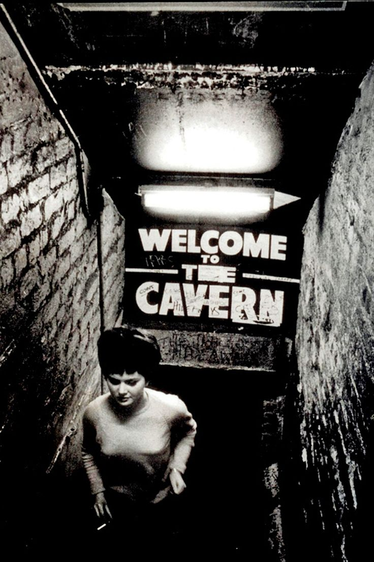 Vintage photo from the Cavern Club in Liverpool.  (http://thegilly.tumblr.com/page/5)