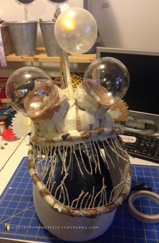 Coolest Angler Fish in a Aquarium Costume                                                                                                                                                                                 More