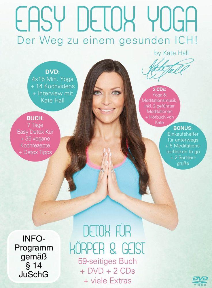 Fitness für Körper und Geist: Easy Detox Yoga von und mit Kate Hall | Sports Insider Magazin