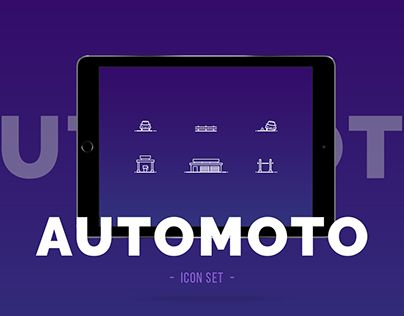 "Check out new work on my @Behance portfolio: ""Automoto icon set"" http://be.net/gallery/50106775/Automoto-icon-set"
