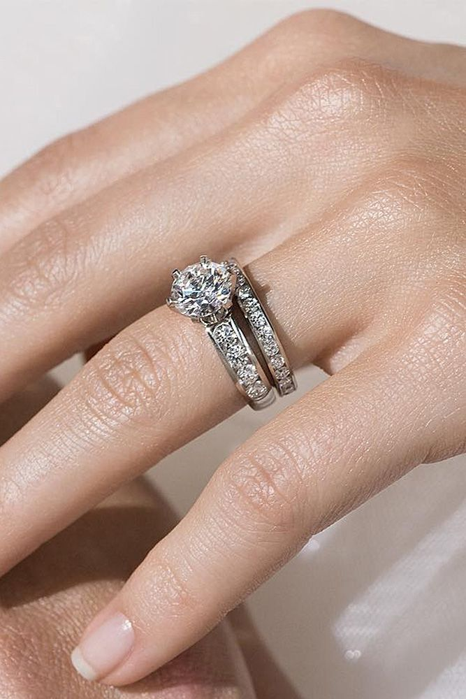 18 Tiffany Engagement Rings That Will Totally Inspire You Solitaire Wedding Set