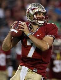 FSU quarterback -Christian Ponder