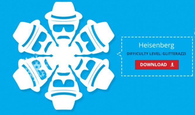 Heisenberg Breaking Bad Paper Snowflake Template Http