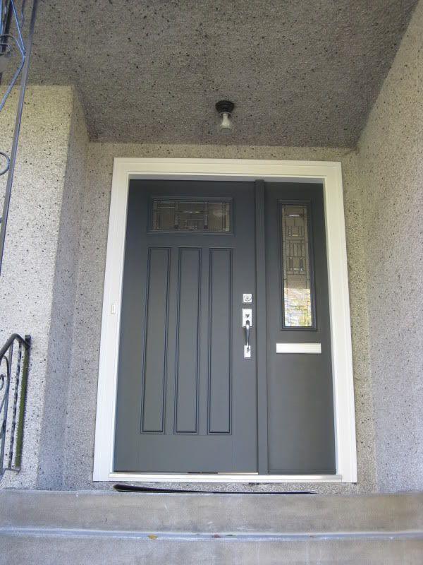 front door color is BM wrought iron