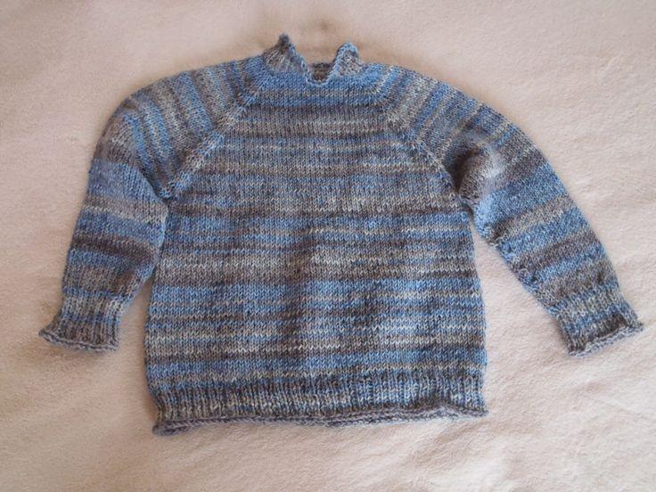 Barvínek: Návod na raglánový svetr pletený od shora