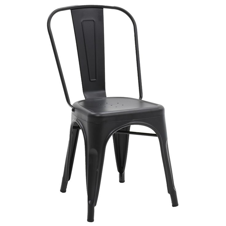 Chair Utopia metal black