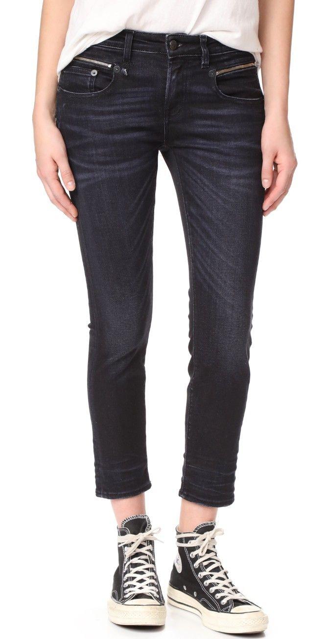 R13 Biker Boy Jeans   SHOPBOP