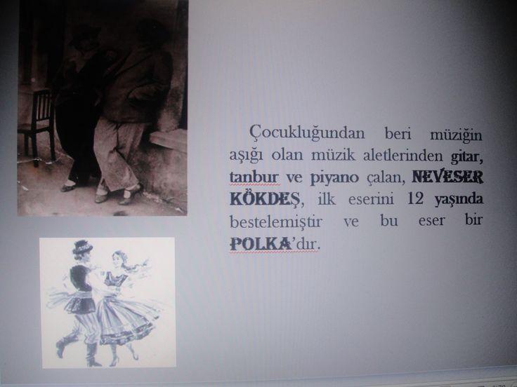İlk eseri, on iki yaşındayken bestelemiş olduğu bir ''POLKA''dır.