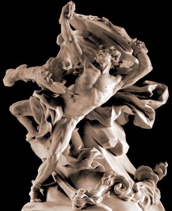 PROMETEO. NICOLAS SÉBASTIEN ADAM. 1762. Louvre.