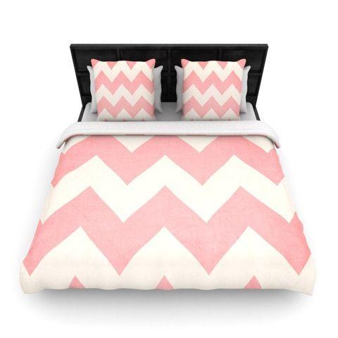 Pretty chevron bedding