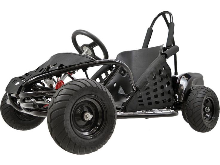 The MotoTec Off Road Go Kart is the ultimate kid ride! Featuring a powerful 48 volt 1000 watt motor, roll cage safety bars, positraction, hydraulic brakes, adjustable seat and seat belt. This go kart