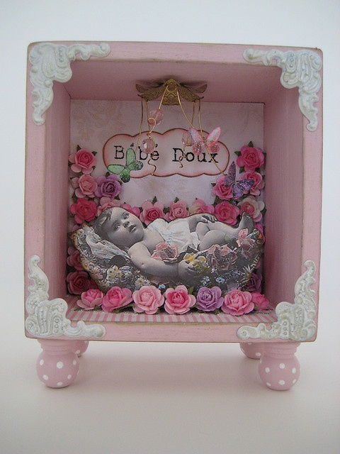 Altered Art Shadow Box