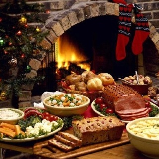 Christmas Dinner from A Southern Season in Chapel Hill, N. C.