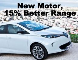 Renault ZOE Gets 15% Boost In Range From New Motor Unit
