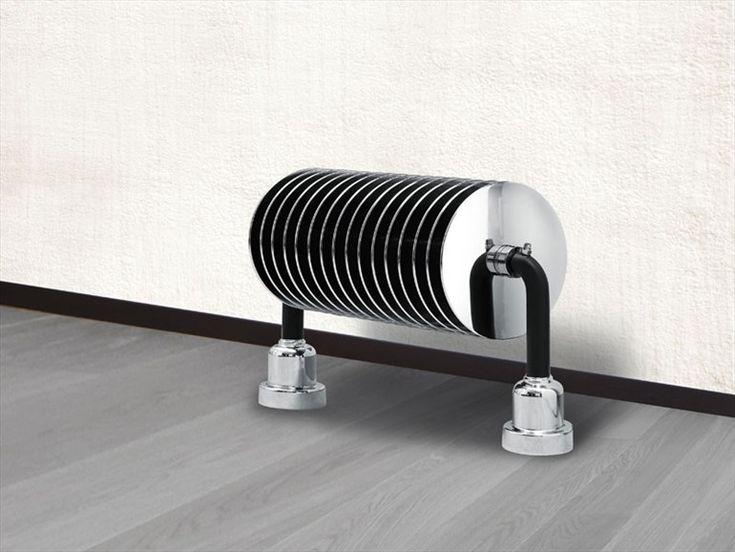 Floor-standing steel decorative radiator VIENNA Design Collection by BRANDONI