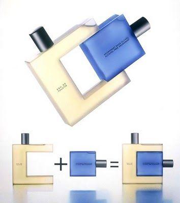 Bouteilles et flacons de parfum, deux exemples réussis | Designer Industriel Consultation avec Laurent Marcoux