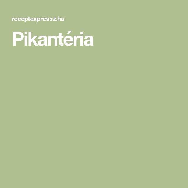 Pikantéria
