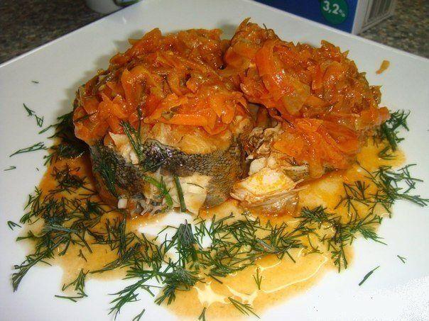 Fish marinated.
