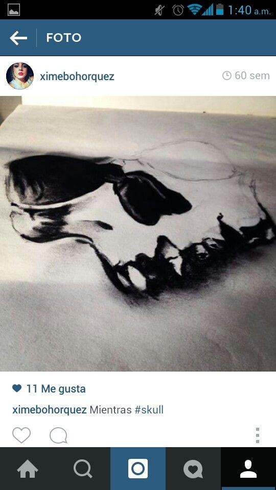 #skull #draws #tattoodesign #blackandwhite #ximenabohorquez