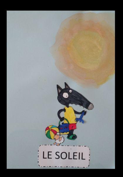 Ici la page Facebook des créations de Loup Lamétéo avec p'tit loup par Juliette 2 ans et Nathan 3 ans coloriage p'tit loup utiliser pour le jour coloriage p'tit loup utiliser pour le brouillard coloriage ...