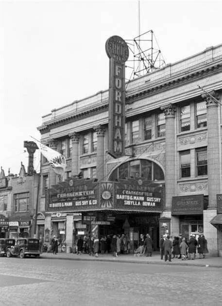 RKO Theater on Fordham Road. New York. 1931