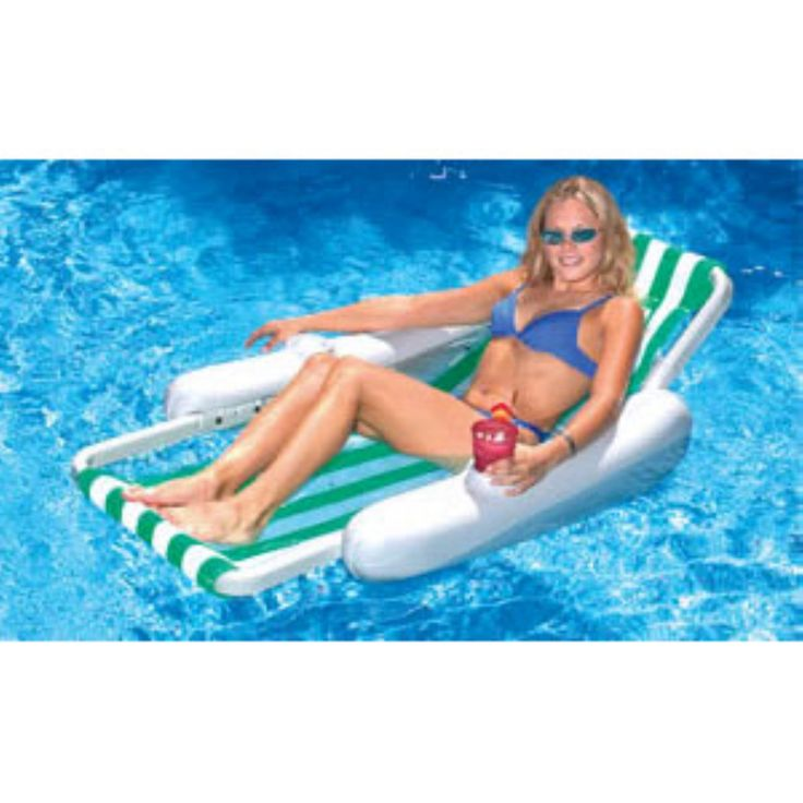 Blue Wave Sunchaser Sling Lounge Foam Pool Float - NT149
