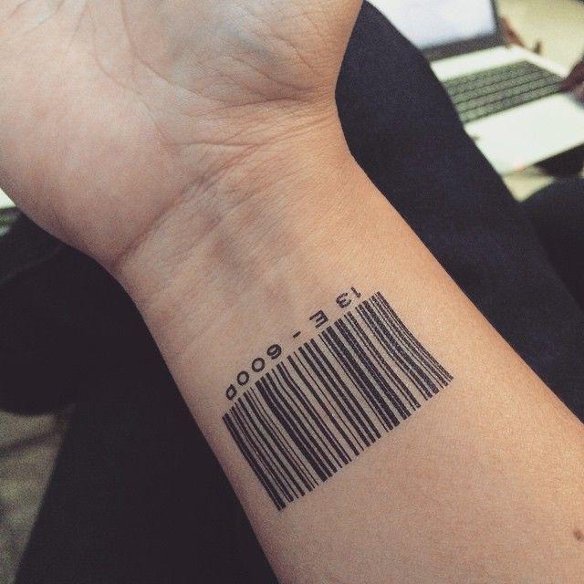 Bildresultat för barcode tattoo