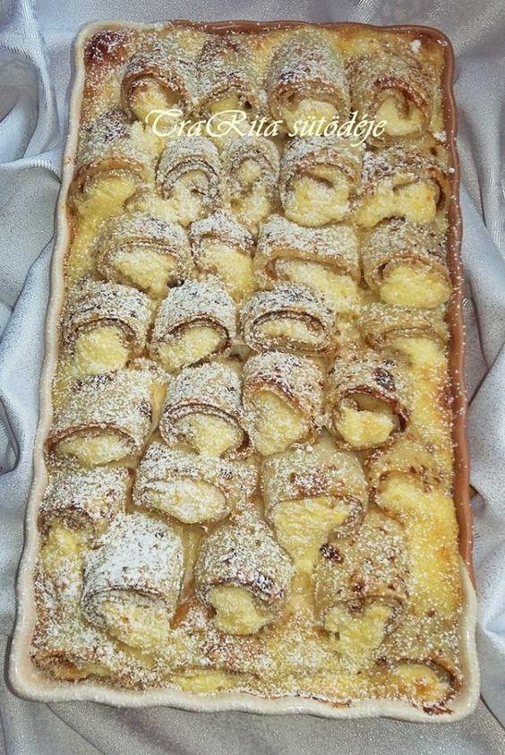 Hozzávalók:  tetszés szerinti palacsintatésztából sütött palacsinta :) ( kb. 15-18 db. )   Töltelék:   50 dkg túró 4 tojássárgája 1 citrom reszelt héja ízlés szerint porcukor…