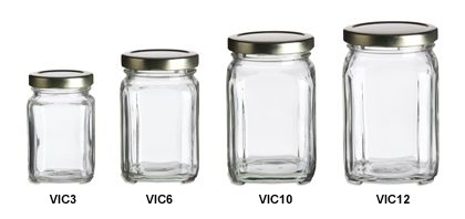 Super cheap jars & bottles made of glass, plastic, tin, or aluminum... many storage possibilities & craft uses.  Pantry storage for sure.