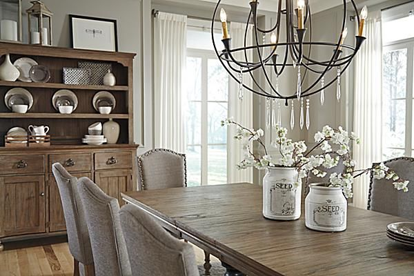 The Tanshire Dining Room Table From Ashley Furniture HomeStore AFHS Perfectly Capturing True Beauty Of Vintage Casual Design Vintag