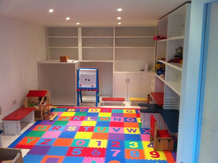 garage converted to playroom - Google Search