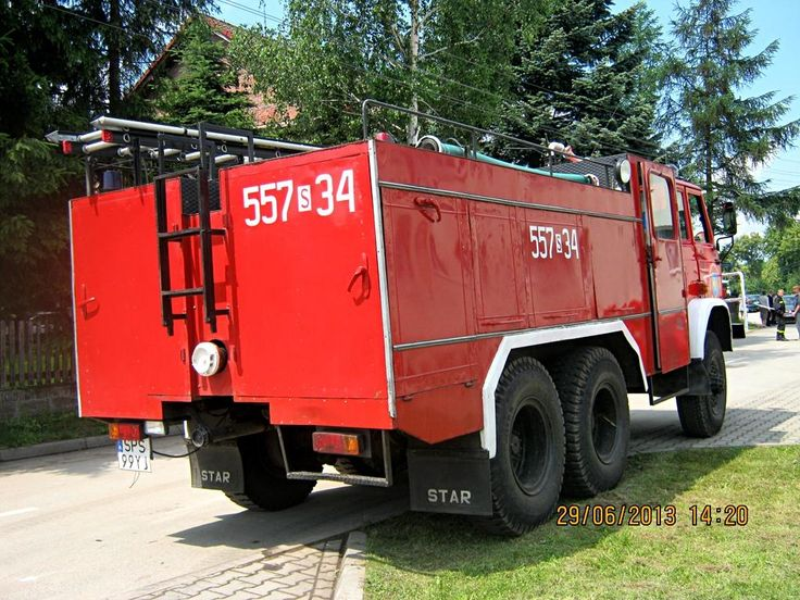 557[S]34 - GBM 2/8 Star 266/Osiny - OSP Krzyżowice