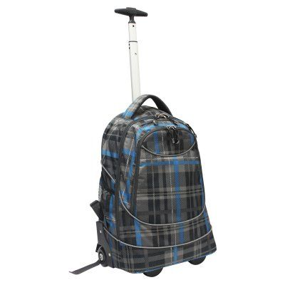 Travelers Choice Pacific Gear Horizon Rolling Computer Bag / Multi-Use Carry-On Backpack - GP80780DOK