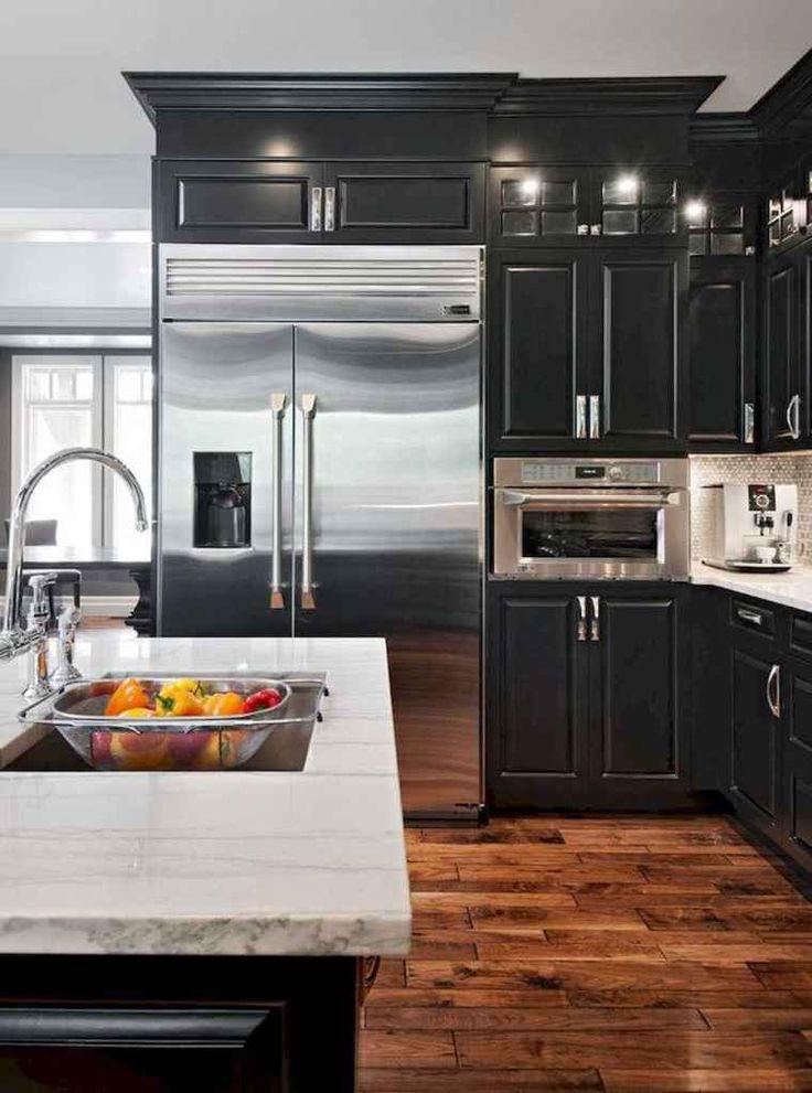 60 black kitchen cabinets design ideas 36 coachdecor com popular kitchen colors kitchen on kitchen cabinet color ideas id=44365