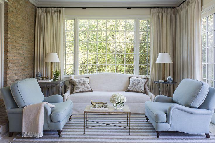 Sun Room by Wendy Labrum Interiors, LLC.