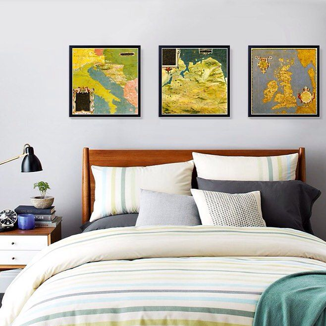 Map is an important subject for wall decorations. I guess it sometimes reflects the history the memories and emotions with mixed feelings. #instago #instagood #art #follow #followme #decor #interior #livingroom #canvas #painting #artprint #wallart #artmuseum #modernart #arte #maps $249 for three pieces frame included and free shipping to door worldwide