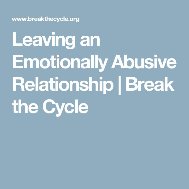 Leaving an emotionally abusive marriage 2 strategies